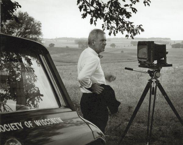 Paul Vanderbilt and his Camera