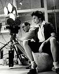 Shirley Clarke directing BULLFIGHT