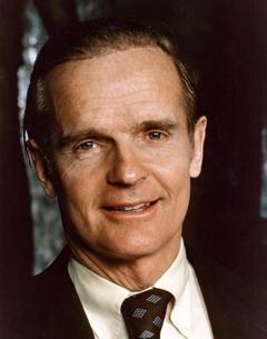 Senator William Proxmire, 1975.