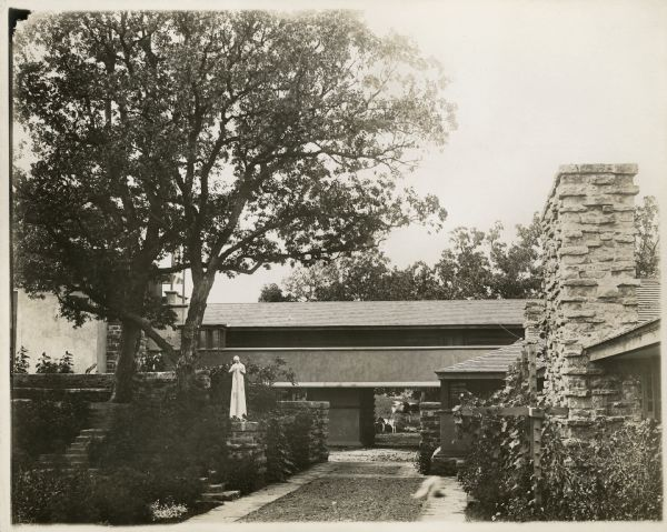 Taliesin I Hayloft, 1912, Spring Green. WHI 83020.