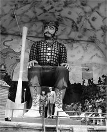Paul Bunyan statue, WHI 3123.