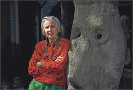 Milwaukee-born artist Mary Nohl (Milwaukee Journal Sentinel photo)