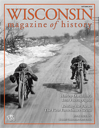 Wisconsin Magazine of History, Autumn, 2014, Cover
