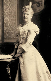 Catharina Seipp, second wife of Conrad Seipp, was the matriarch of the estate.