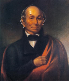 Painting of Black Hawk by Robert M. Sully.