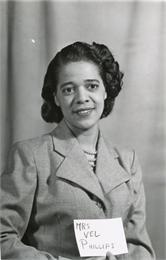 Portrait of Mrs. Vel Phillips