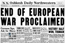 Image of Oshkosh Daily Northwestern Newspaper, 1945