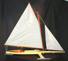 Madison Style Ice Boat Model