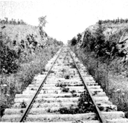 Railroad Cut.