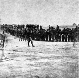 Prisoners captured on July 1, 1863.
