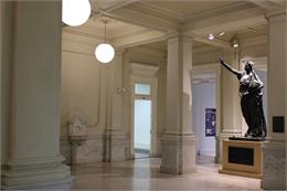 Wisconsin Historical Society HQ Lobby.