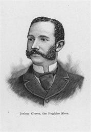 Head and shoulder's portrait of Joshua Glover.