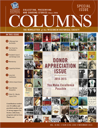 Donor Appreciation, Columns Special Issue 2015