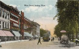 madison's capitol square postcard