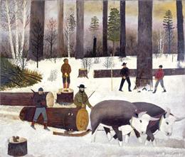 Logging Scene, WHI 2775