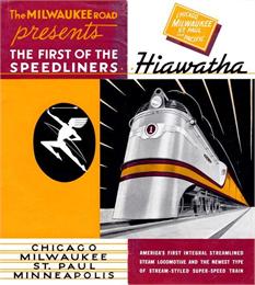 Hiawatha Brochure, 1935, WHI 24725.
