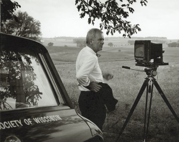 Paul Vanderbilt and his Camera