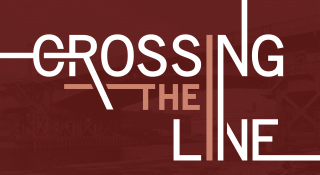 Crossing the Line Web Page Banner