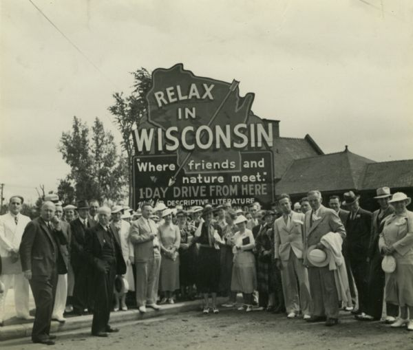 Wisconsin Tourism Sign