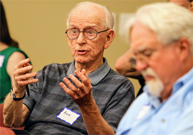 "Ken Germanson, president emeritus of the Wisconsin Labor History Society, talks about the importance of workers to the story of Wisconsin. ""Our people were always activating and combining together to create change."""