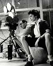 Shirley Clarke directing BULLFIGHT