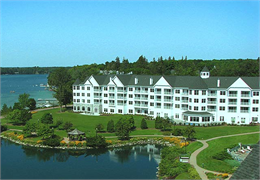 The Osthoff Resort and Conference Center in Elkhart Lake, Wisconsin