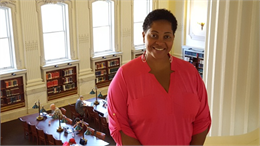 Tanika Wilson-Kromah, Coordinator of Adult Education