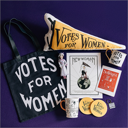 Votes for Women Shop Items