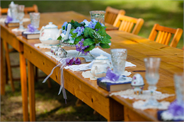 Villa Wedding Table Setting