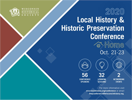 Local History & Preservation Conference Brochure for download as PDF