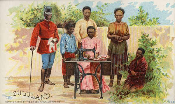 Zululand Group, 1892. WHI 57787.