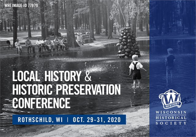 2020 Local History Conference Promo Image.