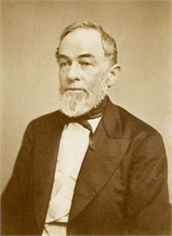 Portrait of Judge Catlin with a white beard.