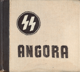 A close view of the album cover shows the woven rabbit wool.
