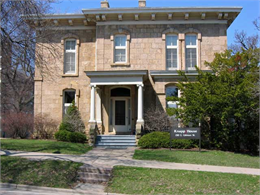 Image of the first Wisconsin Executive Residence on 130 E. Gilman Street in Madison.