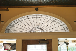 Decorative transom