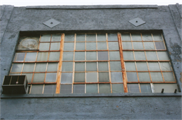 Steel casement window