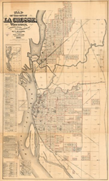 Map of La Crosse