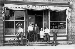Saloon storefront