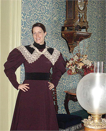 Susan Caya-Slusser is the site director at Villa Louis historic site in Prairie du Chien.
