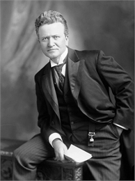 Portrait of Robert M. La Follette during his tenure as U.S. senator from Wisconsin.