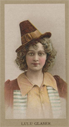 Lulu Glaser (1874-1958), renowned Victorian/Edwardian comedic actress and singer.