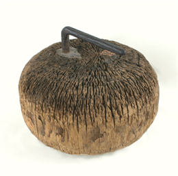 Wooden Curling Stone