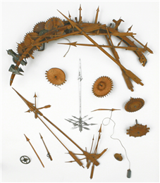 Components of John Muir's clock