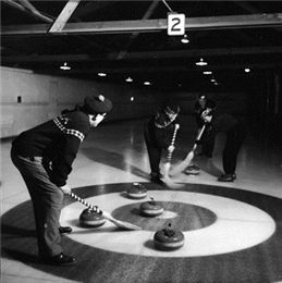 Members of the Madison Curling Club