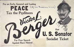 Berger and Bismark