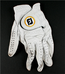 Golf glove worn by Sherri Steinhauer