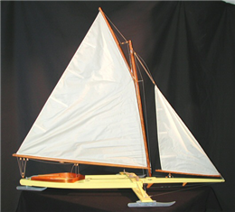 Madison Style Ice Boat Model