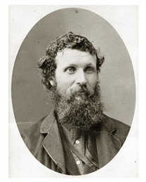 Portrait of John Muir, c. 1875