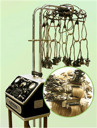 Permanent wave machine
